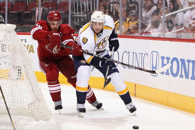 Preds' Smith Signs with Finnish Team Owned by Hartnell, Timonen
