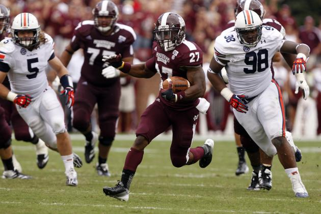 Mississippi State's Perkins Hopes to Run Wild on Cats