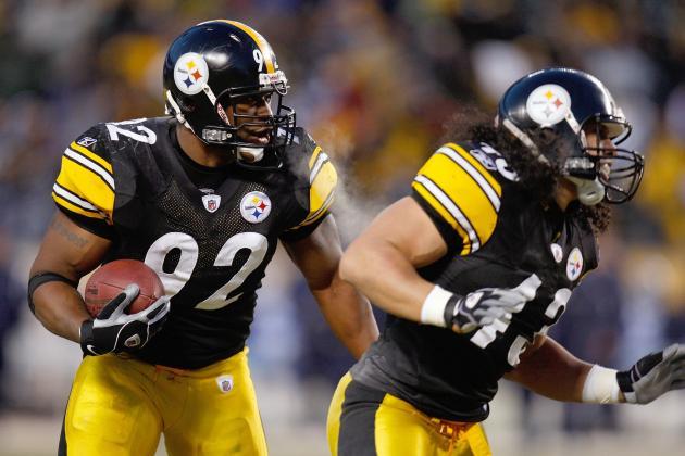Steelers Expecting Polamalu, Harrison to Play