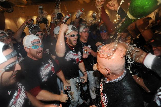 Bryce Harper Deserves to Participate in Beer-Bath Celebration with Nationals