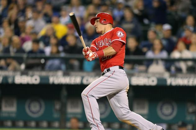 Mike Trout Gave an MVP Performance Last Night for the Los Angeles Angels