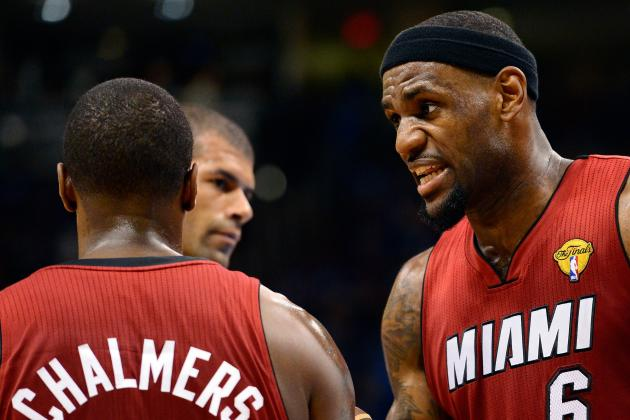 LeBron Hopes Chalmers Grows Up This Season
