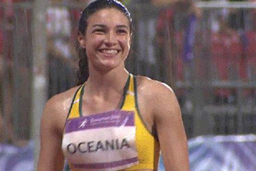 Gif Of Michelle Jenneke In The Rain Threatens To Break Internet