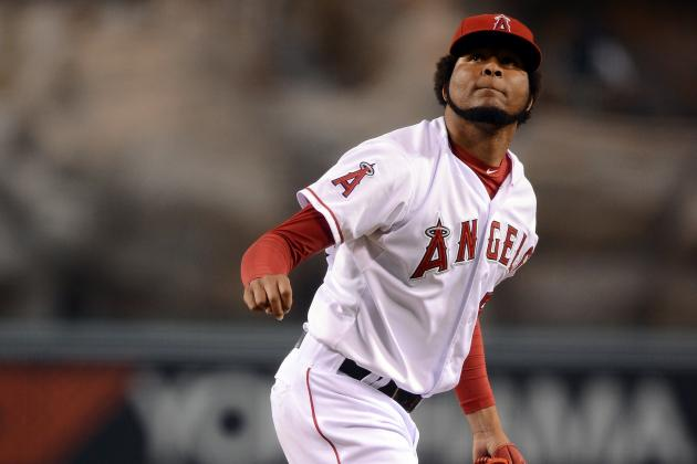 Ervin Santana's Future with Angels Might Be Up in the Air