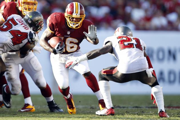 Analyzing Washington Redskins Rookie Alfred Morris' 39-Yard TD Run in Week 4
