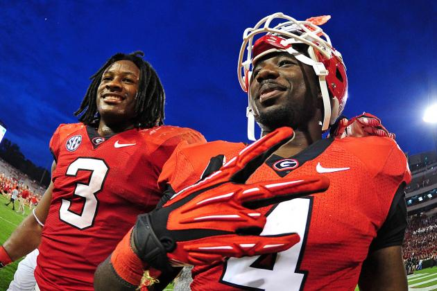 Georgia's Todd Gurley and Keith Marshall Are SEC's Best RB Duo Since...
