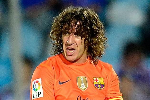 Carles Puyol Injury: Updates on Barcelona Star's Arm