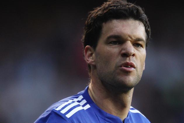 Germany and Chelsea Midfielder Michael Ballack Has Retired