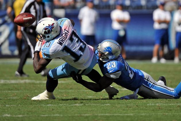 Titans' 1st-Round Pick Kendall Wright Struggles to Break Through