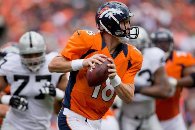 Patriots DC Sees No Issue with Peyton Manning's Arm
