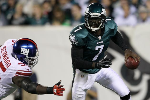 Michael Vick Needs a Pitch Count for the Philadelphia Eagles to Succeeed