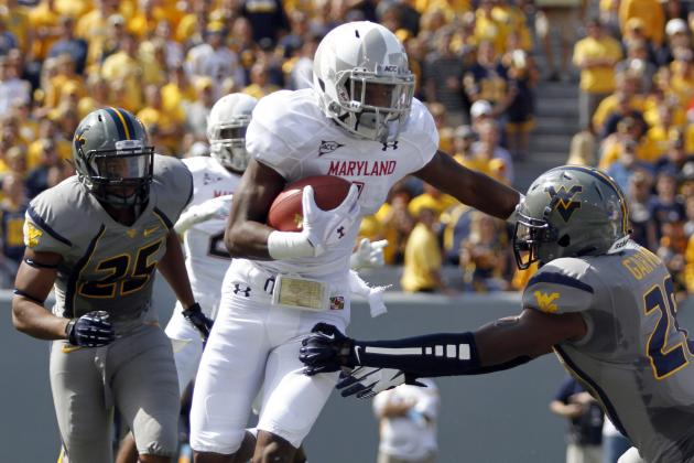Maryland Freshman WR Diggs Leaps into Stardom