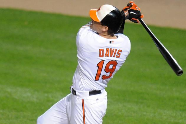 Chris Davis Joins Reggie Jackson in Orioles' History