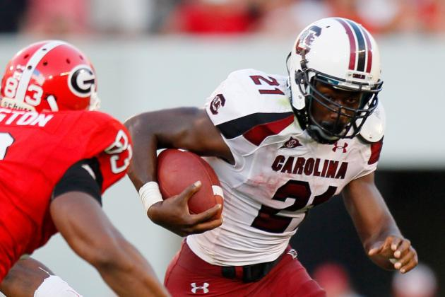 South Carolina vs. Georgia: Will SEC Clash Be Shootout or Low-Scoring Grind?