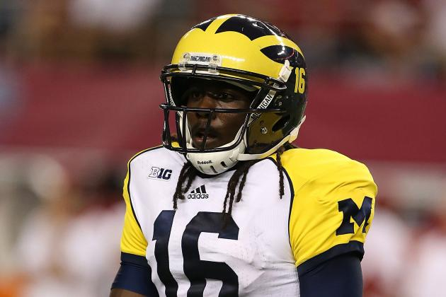 Michigan Football: Why Denard Robinson and Wolverines Can't Take Purdue Lightly