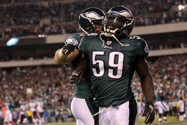 Philadelphia Eagles Cut Former Starter Brian Rolle and Strengthen Offensive Line