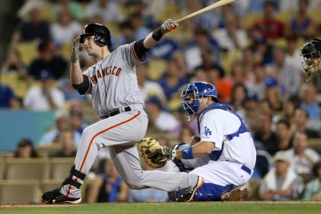 Comparing Buster Posey's and Melky Cabrera's Final 2012 Batting Numbers
