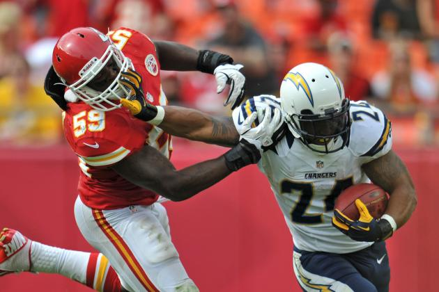 Ryan Mathews: Why Chargers RB's Fantasy Value Has Flatlined