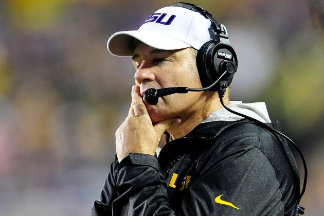 LSU vs. Florida: Breaking Down What's Wrong with Les Miles and the 2012 Tigers