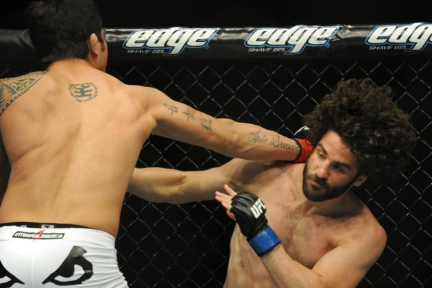UFC's Charlie Brenneman Released Following Loss to Kyle Noke