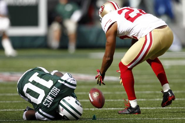 49ers' Cornerback Carlos Rogers Says Jets Quit