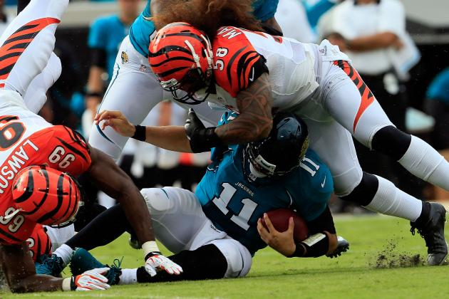 Jacksonville Jaguars' All-22 Review: Who's to Blame for Sacks?