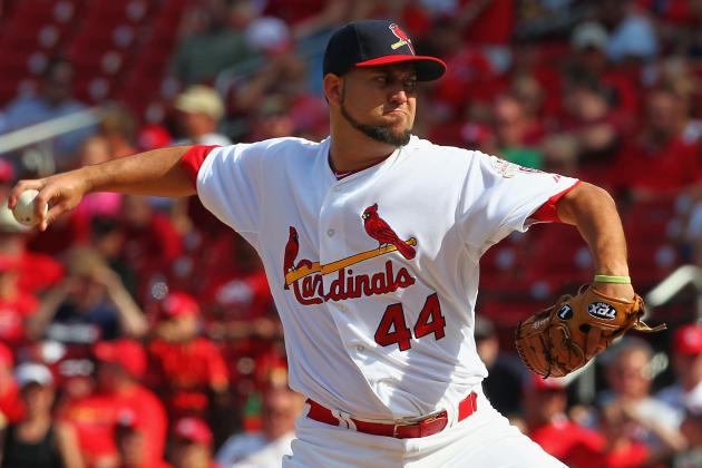 Reliever Edward Mujica Has Been Magic for St. Louis Cardinals in 2012