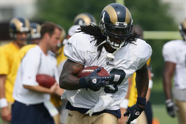Steven Jackson Practiced for Rams on Tuesday