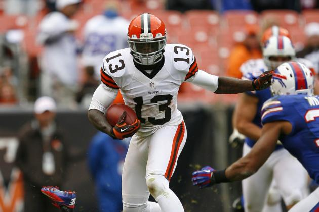 Browns Rookie Josh Gordon Aiming to Step Up for Battered Receiving Corps
