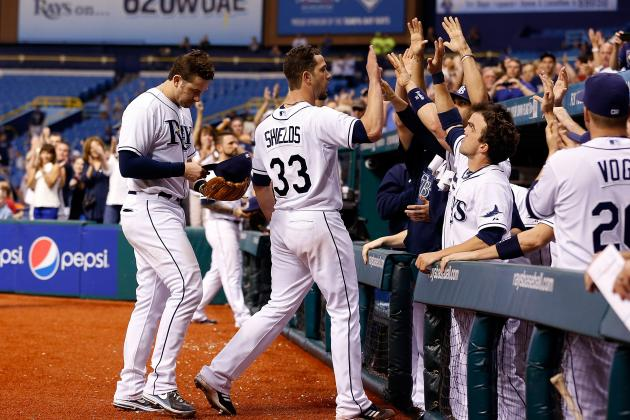 Tampa Bay Rays: James Shields Gets No Run Support in Historic Loss