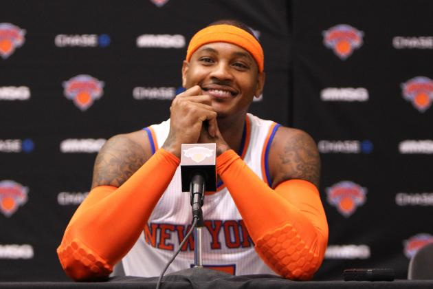 Melo Compares New Shoe to 'Iron Man' Suit