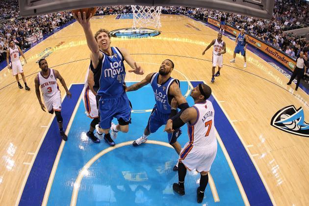 Jason Kidd Thinks Carmelo Anthony and Dirk Nowitzki Are 'Very Similar'