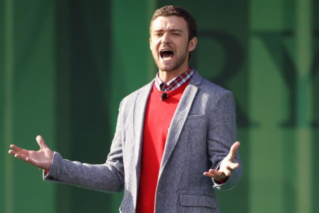 Report Justin Timberlake, Las Vegas PGA Tour Stop Part Ways