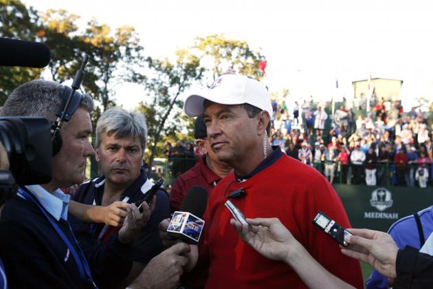 U.S. Captain Davis Love III Says 'I Stuck with the Plan' During Ryder Cup