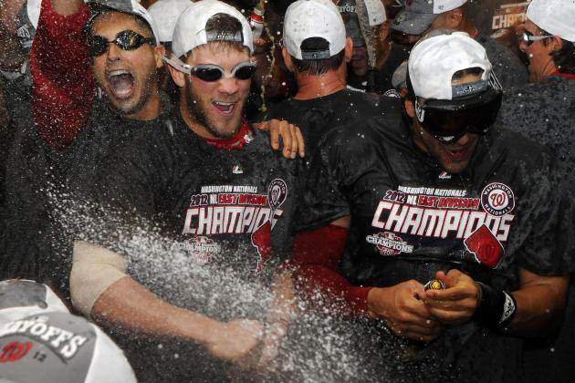 Nationals' Celebration Involved 60 Bottles of Champagne and 480 Cans of Beer