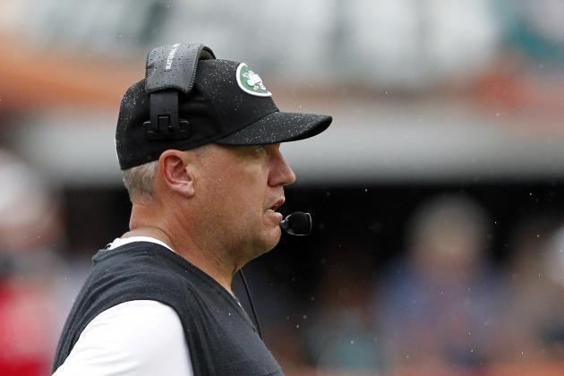 Rex Ryan Says Jets Didn't Quit, but Were Tired Late