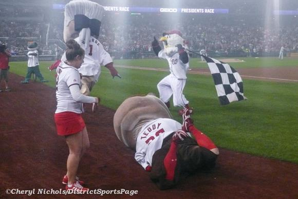 Washington Nationals: Will Teddy Win the Presidents' Race in 2012?