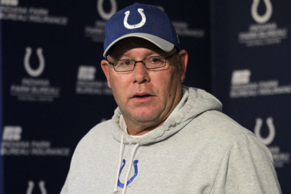 Colts Coach Has Leukemia; Arians Takes over