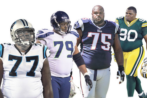NFL Big Men Furious at New Nike Uniforms Making Them Look Fat