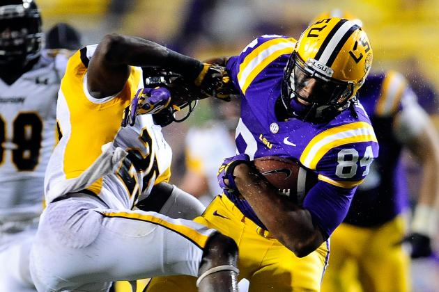 LSU and ULM Set Up Game for the 2014 Season