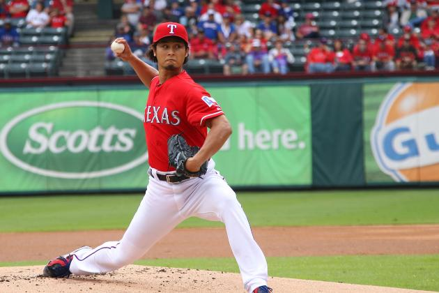 Darvish to Start Rangers' 1st Playoff Game
