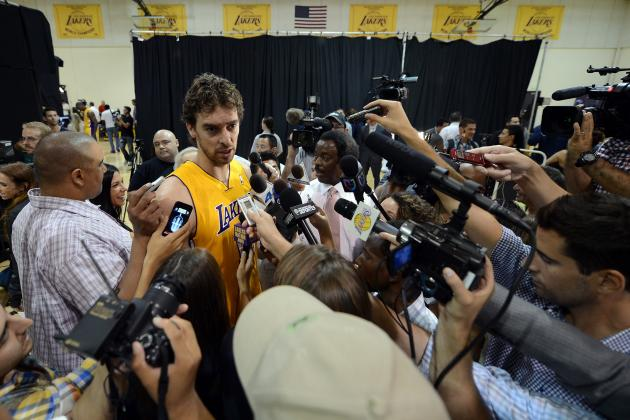Mike Brown's Endorsement of Pau Gasol Signals Big 2012-13 for L.A. Lakers Star