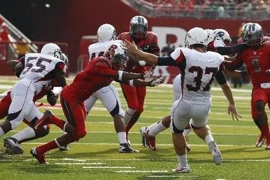 Rutgers' Miles Shuler Suffers Leg Injury