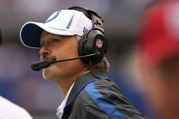 Colts' Blue Crew Selling Chuck Pagano T-Shirts