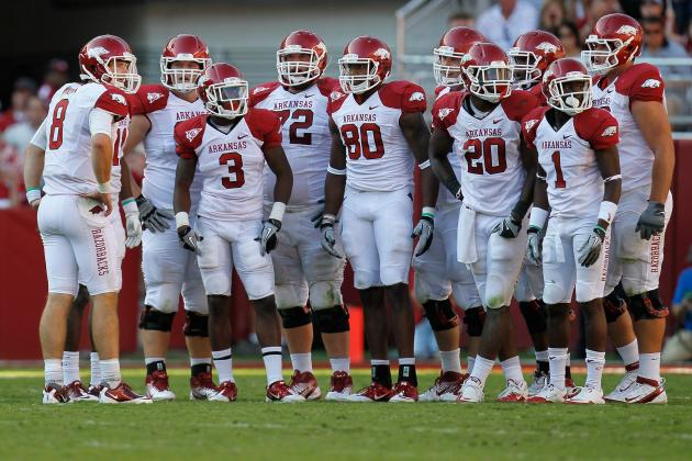 Star Power on Arkansas Offense Has Auburn's Attention in SEC Matchup