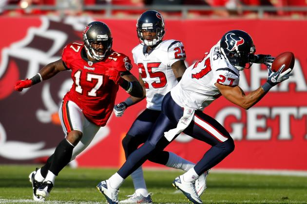 Texans' Demps to Miss Some Time with Broken Left Forearm