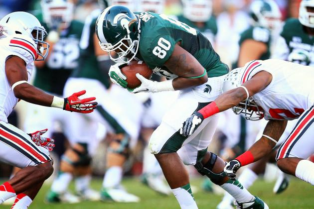 Spartans Shake Up Receiving Unit