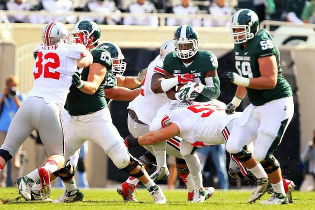 Michigan State's Offensive Problems Begin Along the Line