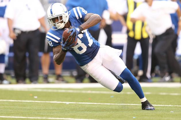 Start 'Em, Sit 'Em Week 5: Reggie Wayne and WRs Primed to Explode
