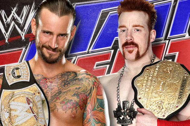 WWE Main Event: Why Putting CM Punk vs. Sheamus on Debut Show Is Right Move